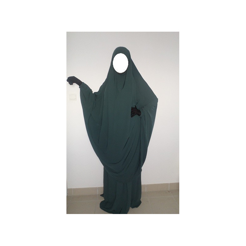 Jilbab as-Saffa VERT JADE