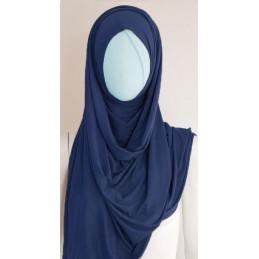 Hijab Large Uni - BLEU NUIT