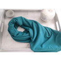 Hijab Large Uni - Bleu Vert