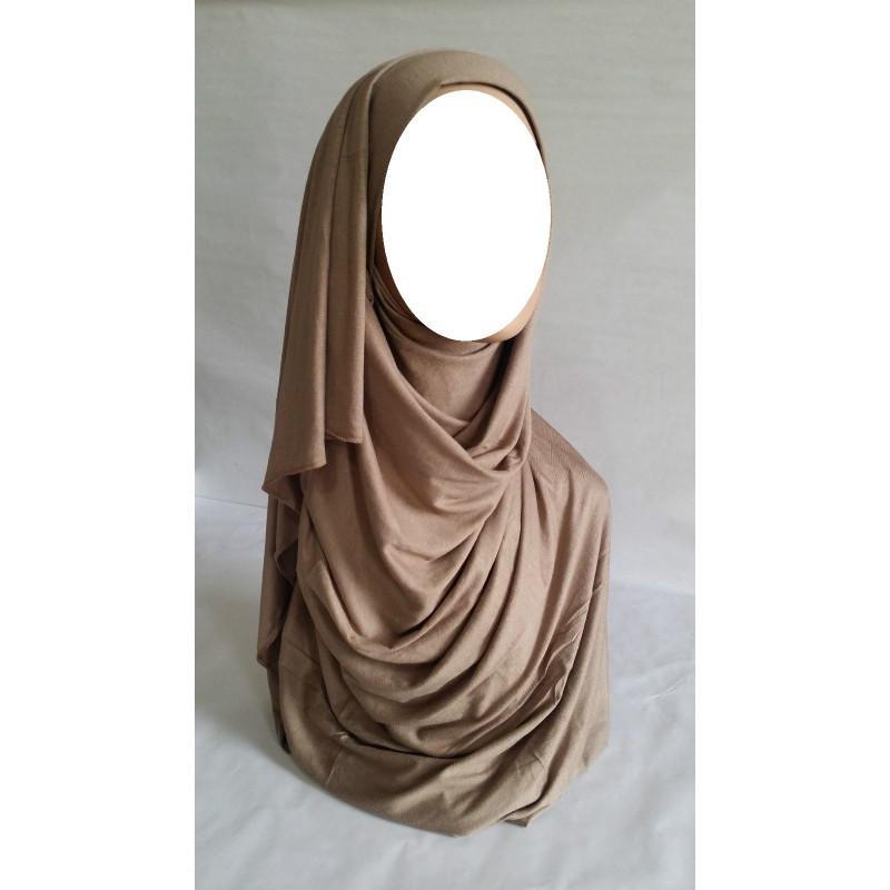 Hijab Maxi Uni - Beige