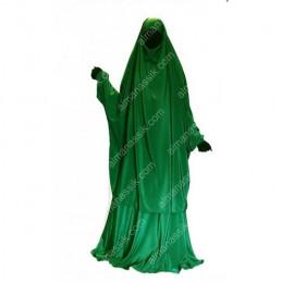 Jilbab Al Manassik VERT SAPIN