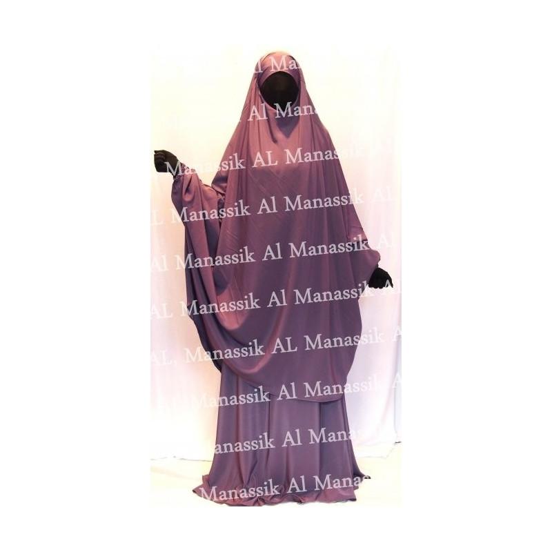 Jilbab Al Manassik LILAS