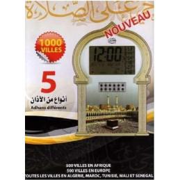 Horloge Adhan avec option Roqya