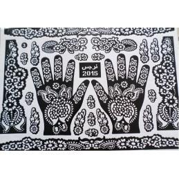 Pochoir Tatouage Henné