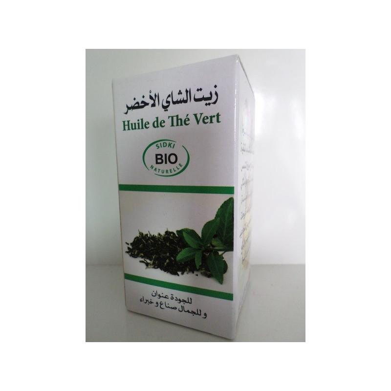 Huile de Thé Vert BIO
