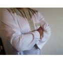 Qamis Pakistanais Bicolore Al Atlas - Blanc/Beige