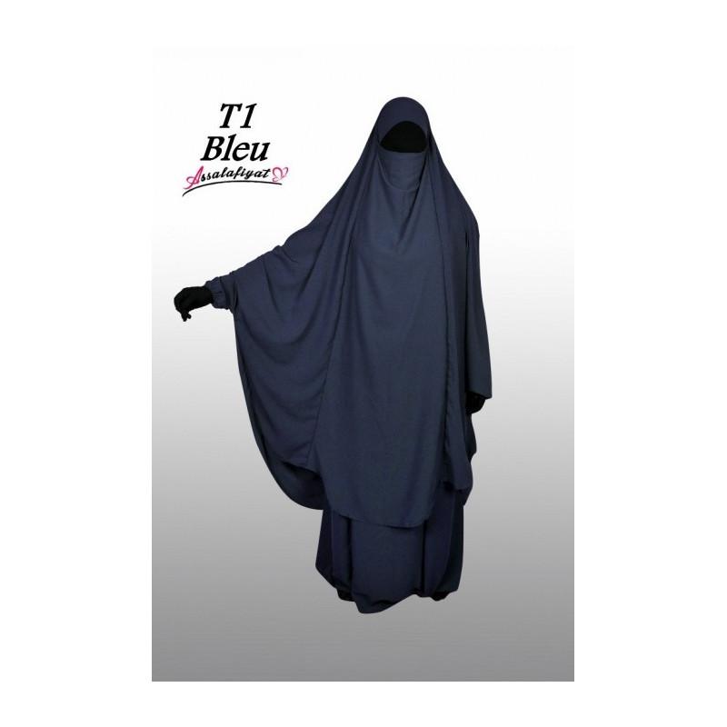 Jilbab Assalafiyat - Bleu Nuit
