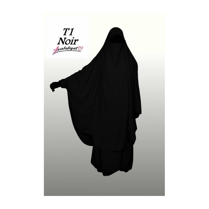 Jilbab Assalafiyat - Noir