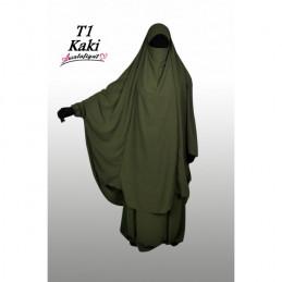 Jilbab Salafiyat - Vert Kaki