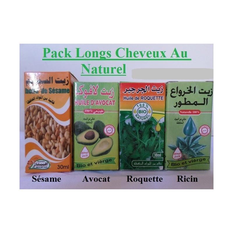 Pack Long Cheveux Au Naturel