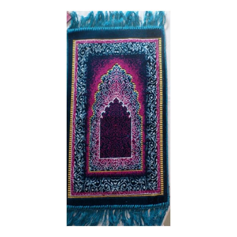 Tapis de Prière Enfant Masjid - Bleu