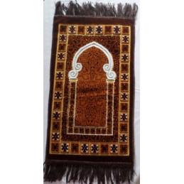 Tapis de Prière Enfant Masjid - Marron