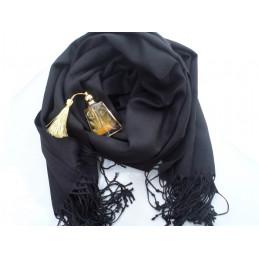 Pashmina Turque - Noir