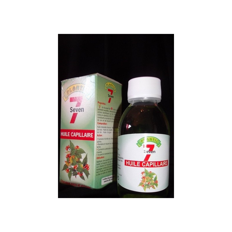 Huile capillaire aux 7 huiles végétales