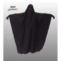Jilbab Saoudien Assalafiyat - NOIR