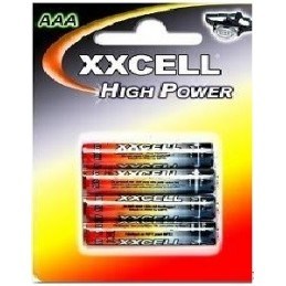 4 PILES XXCELL HIGH POWER LR06