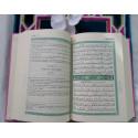 Coran Edition de Luxe Couverture en Daim - Rose