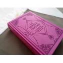 Coran Edition de Luxe Couverture en Daim - Mauve