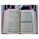 Coran Edition de Luxe Couverture en Daim - Vert