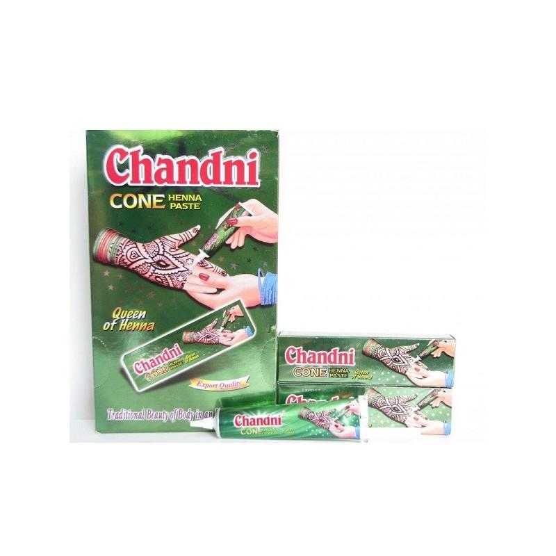 24 Tubes de Henné - Chandni Cone