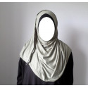 Hijab Easy Facile à Enfiler - Vert Kaki