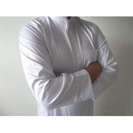 Qamis Saoudien Al Hattami - Blanc