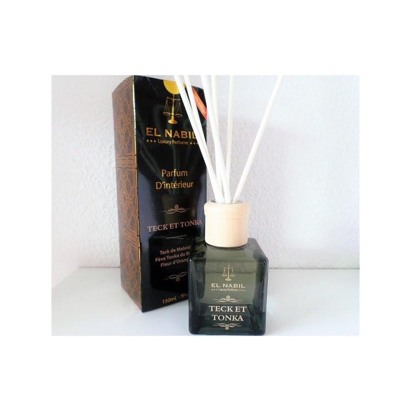 Parfum d'Intérieur Teck et Tonka - El Nabil