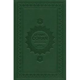 Le Saint Coran et la Traduction en Langue Française du sens de ses versets ( AR/FR ) - Vert Sapin