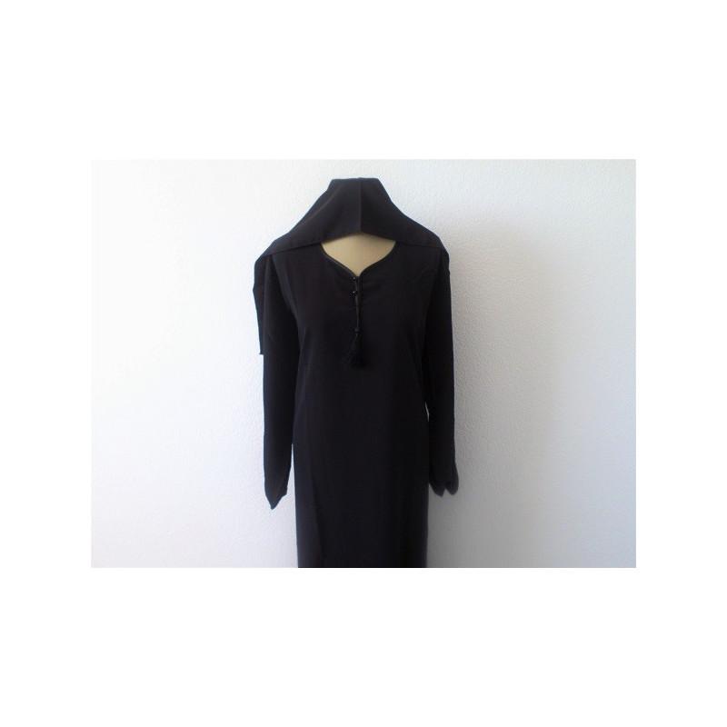 Abaya Alhaya - Noir