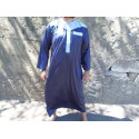 Qamis Atlas Dubai - Bleu / Gris