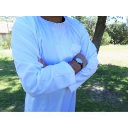 Qamis Al Hattami - Blanc