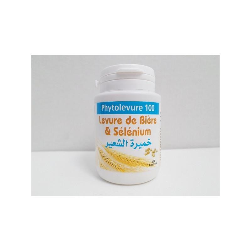 Levure de Bière au Sélénium - Phytolevure 100 Gélules