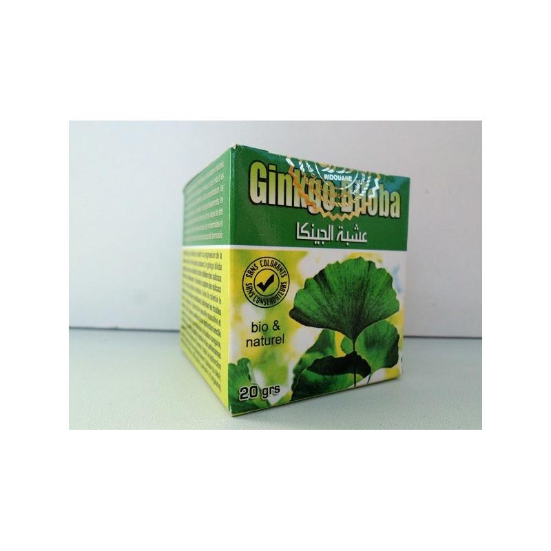 Ginkgo biloba en Poudre - Bio & Naturel