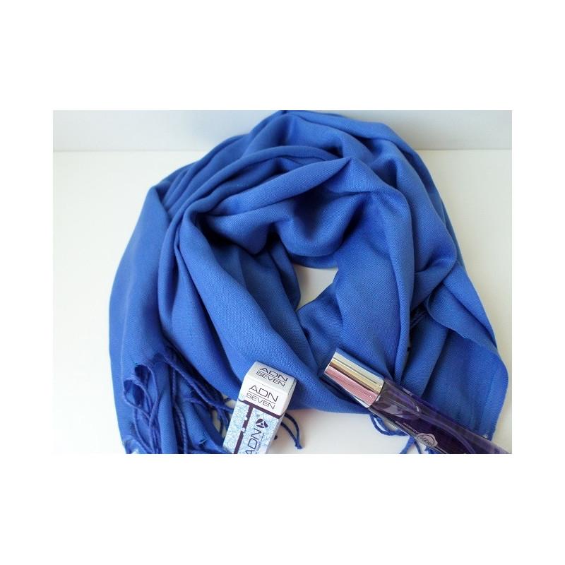 Pashmina Turque - Bleu Bondi