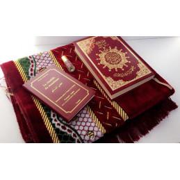 Coffret Cadeau Coran Rajha Rouge