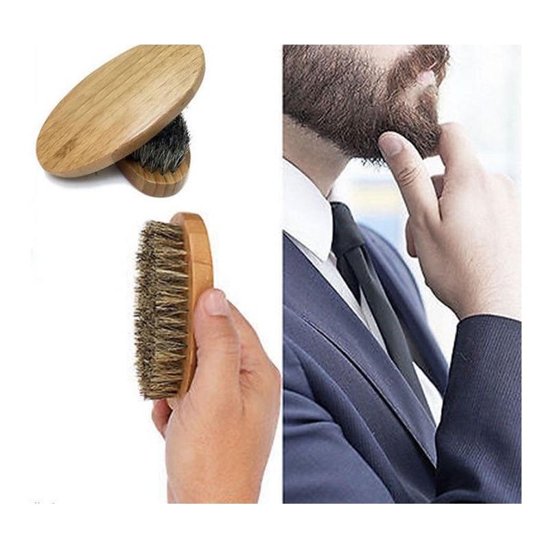 Brosse à barbe en Bois