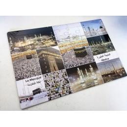"""Tapis Puzzle """" La Mecque et Médine"""""""
