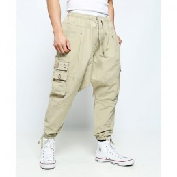 Sarouel Battle Long Dianoux Dc Jeans - Beige