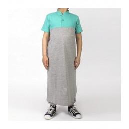 Qamis Enfant Dc Jeans Dianoux - Gris/Vert