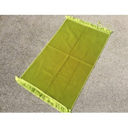 Tapis de Prière Epais Haut de Gamme Velours - Vert Pastel