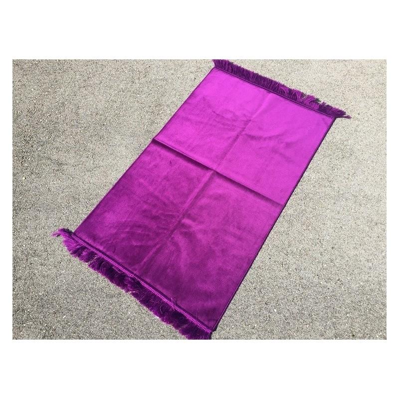 Tapis de Prière Epais Haut de Gamme Velours - Violet