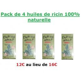Pack huile de ricin