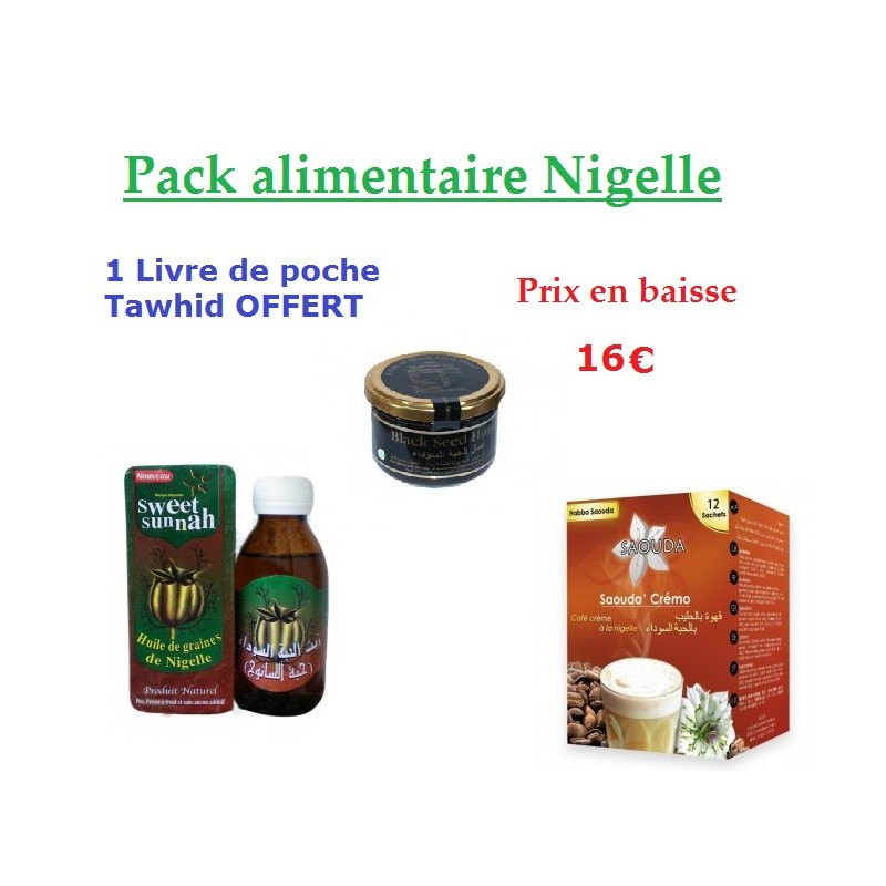 Pack alimentaire Nigelle