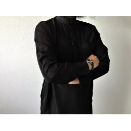 Qamis Pakistanais Afghani - Noir