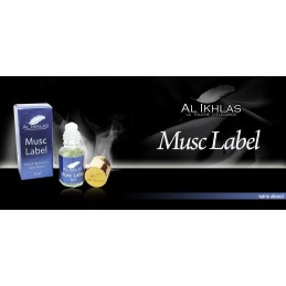 Musc Label - Al Ikhlas
