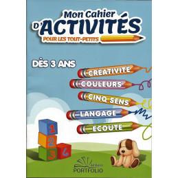 Mon Cahier d'Activités pour les Tout-Petits