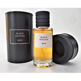Parfum Black Edition Senteur Bois d'Argen - 50ml