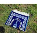 Tapis de Prière Enfant Alif - Bleu