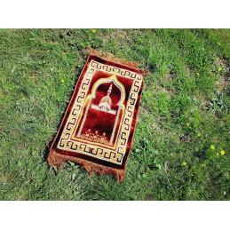 Tapis de Prière Enfant Alif - Marron