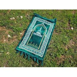 Tapis de Prière Enfant Alif - Vert